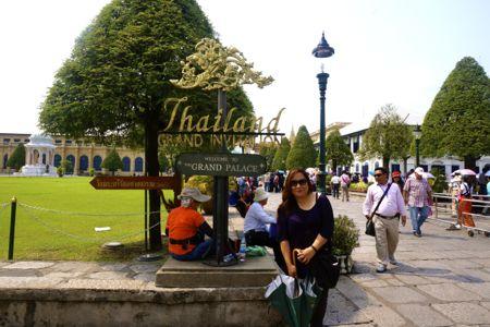 The Grand Palace & Wat Phrakaew - Bangkok, Thailand | #DTour @mjtam